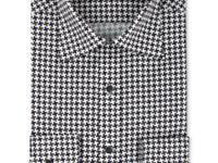 A classic menswear pattern for a bold style statement.