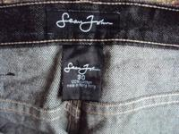 Sean John Men's Black 5 Pocket Jean Size 30x30. Like