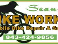 Hi , My name is Sean , and I have a mobile bike repair