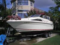 1989 SeaRay DA Sundancer with a forward sleeping v