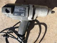 "1/2"" Electric, Impact Gun, Sears - Looks & Works Great"