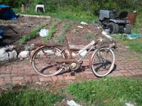 1962-65 sears bike. Complete except for seat. All