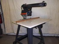 "specialist 10"" radial arm saw, ex.cond made use of"