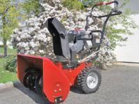 "For sale is a terrific Sears Craftsman 24"" Snow Blower"