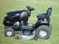 SEARS CRAFTSMAN DYS 4500 LAWN TRACTOR WITH 26 H.P. V