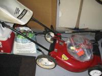 Sears Craftsman Lawnmower Approx. 6 years old. 6.75