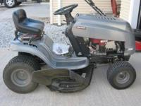 Sears Craftsman 17.5 hp riding lawn mower, purchased