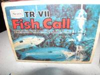 SEARS TR-V11 FISH CALL BRAND NEW IN THE BOX $45 CALL