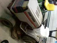Used 44 inch mower deck, 18hp engine good, gear box