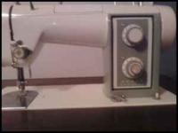 Very nice, in-door kept, Sears Kenmore sewing machine.