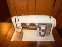 1960's Sears Kenmore Sewing Machine. Full