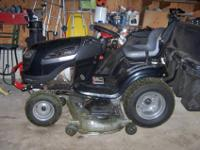GARDEN TRACTOR 26HP 54; MOWER DECKELECTRIC START,