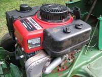 hello, i have an older sears lawnmower, it has a 38 in