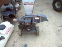 Sears 5hp mulcher, leaf grinder and limb grinder- used