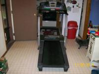 This treadmill is in excellent working condition.