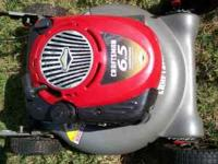 "Sears 21"" push mower, 6.5 hp. Briggs engine, runs"
