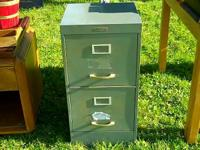 Sears & Roebuck Double Drawer Filing Cabinet determines