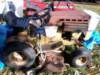 sears / roper mower runs and mows call  Location: