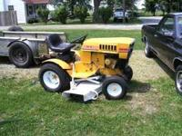 Sears roper garden tractor, 16 horse tecumseh, high and