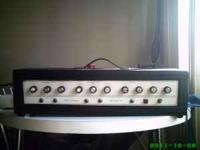vintage sears silvertone 100 guitar amp. all knobs and