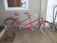 Vintage Sears Sportfire two seater great condition just