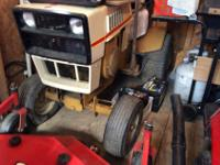1976 to 1978 (30 year old) lawn tractor. heavy duty, no