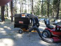 2012 sears leaf vacume & tree limb hog. This unit will