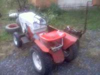 im selling my sears custom 6 tractor with snowplow. the