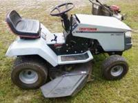 "like new condition 38"" cut 14 h.p. I/C gold OHV 5 speed"