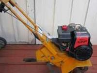 Sears front tine tiller 3 HP Eager 1 engine Starts easy