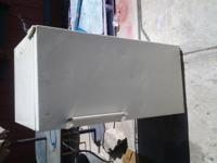 "Sears (mini) Upright Freezer. Approx 48""h 21""w 23""d."