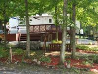 Sportsmans Hideaway Camping site is nestled on the