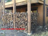 $125 1/4 CORDS ALMOND FIREWOOD $200 1/2 CORDS ALMOND