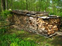 Seasoned Firewood---most split---some not