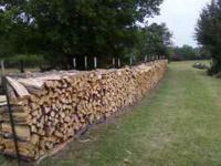 I have split seasoned oak firewood for sale. $90 half