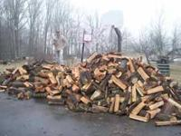 we deliver and stack high quality seasoned hardwood