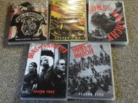 I have all 5 seasons of Sons of Anarchy. Would like