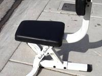 Body Solid 90 Degree Seated Dumbell Bench  use it to