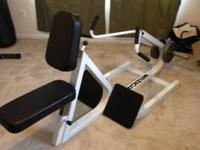 I have a gym high quality seated row / back equipment