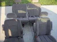 seats for 2003 dodge van grey in collar 4 all together