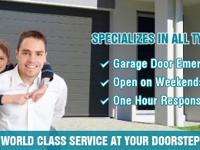 We are a well-known garage door repair company in