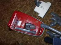 I have a 3 year old Sebo Canister Vacuum Cleaner Sebo
