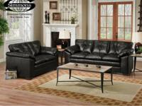 Today's price: $698.00   Description:  Sofa & Loveseat