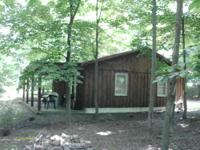 Cabin is at Sportsmans Hideaway Campground, very quiet