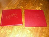 SECRETARIAT BOOK  HARDCOVER,  LEATHER,  WITH