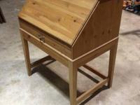 SECRETARY DESK.  CLEAN DESIGN & LIKE NEW. MADE FROM