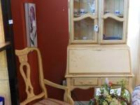 This beautiful set is manufactured by Ethan Allen. The