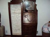 I have for sale an antique secretary/desk and on the