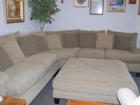 Sectional couch, real comfortable, good condition.
