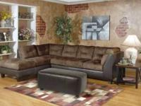 DURABLE,COMFY SECTIONAL AVAILABLE IMMEDIATELY. 2 COLORS